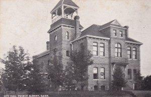 PRINCE ALBERT, Saskatchewan , Canada , PU-1909 ; City Hall