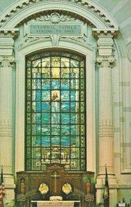 Postcard - MD - Maryland US Navy Naval Academy Chapel Interior Annapolis