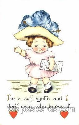 Suffragette Postcard Postcards