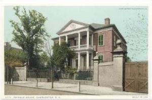 Pringle House, Charleston, South Carolina, 1901