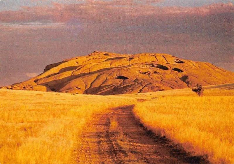 Namibia Blutkuppe Namib Road Landscape