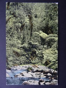 Australia A FAIRY DELL Our Beautiful Bush c1904 Postcard by Harding & Billings