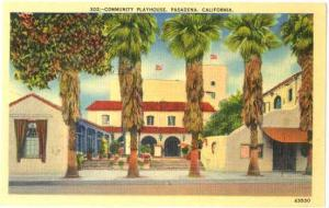 Community Playhouse, Pasadena, California CA, Linen