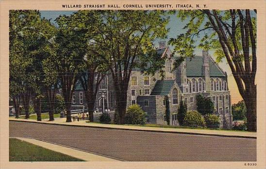 New York Ithaca Willard Straight Hall Cornell University