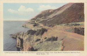 Looking toward Cap Rouge, Old Scot Rock, Cabot Trail, Cape Breton Highlands N...