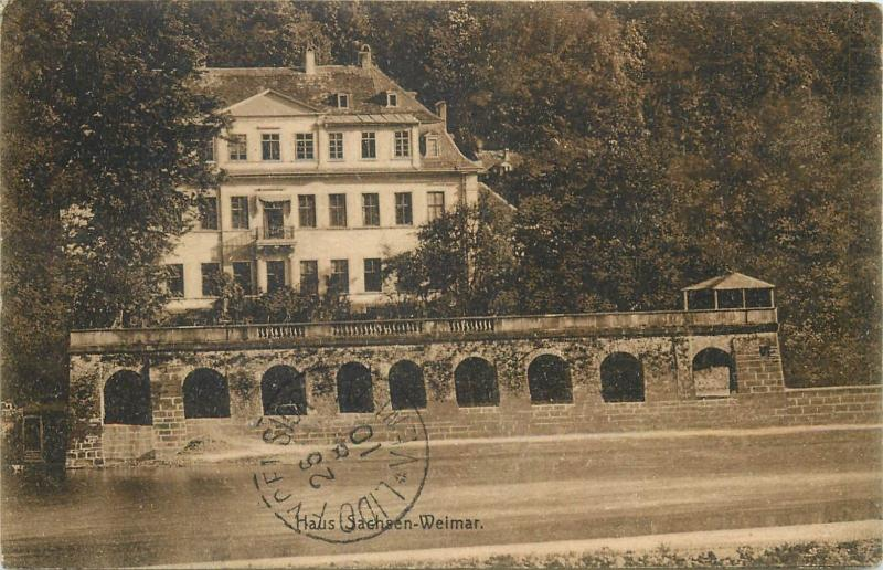 Weimar Germany house Sachsen 1910