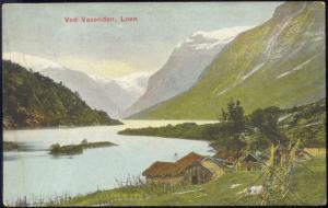 norway norge, LOEN, Ved Vasenden, Panorama (1911)