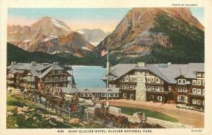 MT, Glacier National Park, Montana, Many Glacier Hotel, Tichnor No. 5A-H193
