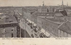 BROCKVILLE , Ontario , 1906 ; King Street , Looking West