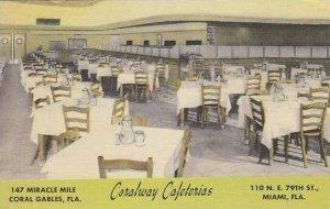 Florida Coral Gables Corlway Cafeterias
