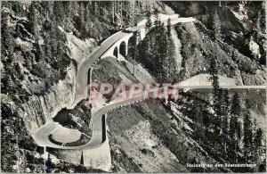Postcard Modern Steinalp an der Sustenstrasse