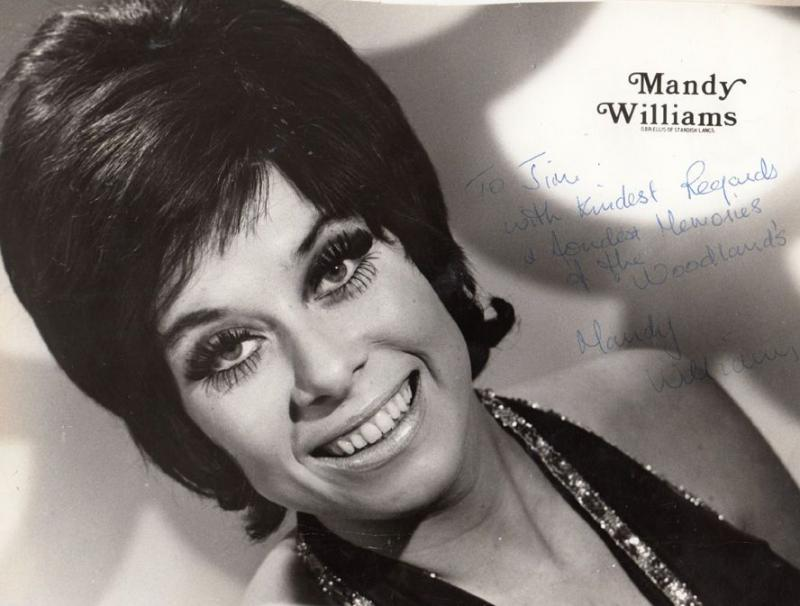 Mandy Williams Hand Signed Photo