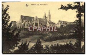 Postcard Abbey of Maredsous