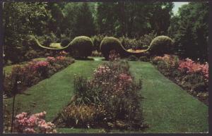 Friendships Gardens,Michigan City,IN Postcard BIN