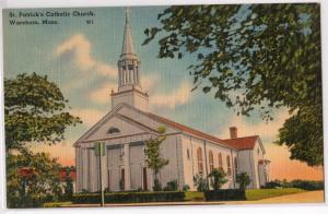St Patrick's Catholic Church, Wareham MA