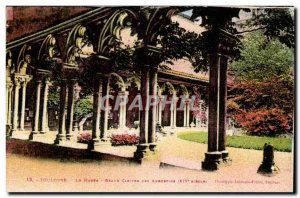 Toulouse Old Postcard The museum Grand cloister of the Augustinians (14th)