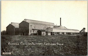 Vintage Loveland, Colorado Postcard EMPSON'S CANNING FACTORY View c1910s Unused