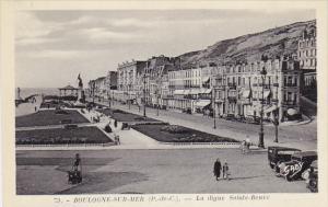 BOULOGNE SUR MER, Pas De Calais, France, 1900-1910's; La Digue Sainte-Beuve