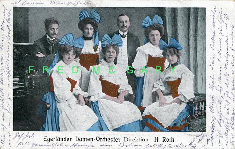 1909 Bohemia (now Czech Republic) PC: Female Chebsko Singing Group & Director