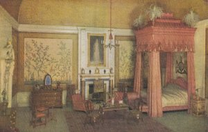 ENGLAND, 1920s; The Queen's Dolls' House, The King's Bedroom; TUCK Series 1