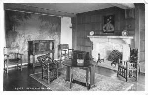 Michelham Priory Interior view Postcard