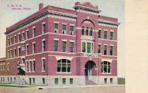 Y. M. C. A. Building, ADRIAN, Michigan, PU-1910