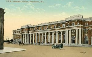 Canada - British Columbia, Vancouver, Canadian Pacific Railway Station