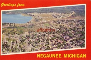 GREETINGS FROM NEGAUNEE, MI iron ore first discovered in 1845