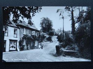 Cornwall ST. MAWGAN Falcon Inn & Shop, Old Postcard by Overland Views Ltd 12/573