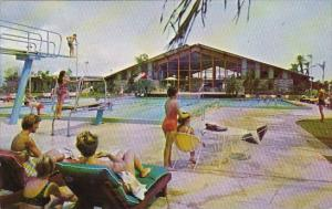 Florida Fort Lauderdale Cape Coral Yacht And Racquet Club With Pool 1966