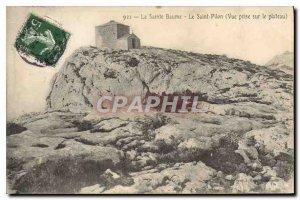 Postcard Old Sainte Baume Saint Pilon View taken on the Plateau