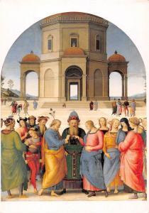 Musee des Beaux-arts de Caen (Calvados) Pietro Vanucci Le Perugin mariage Vierge