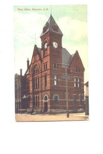 Post  Office, Moncton, New Brunswick