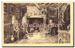 Postcard Old Honfleur Musee Du Vieux Honfleur Chez Le Marin