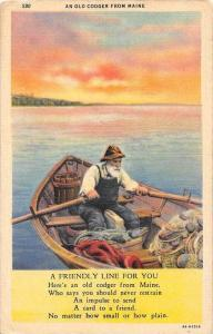 10892 An Old Codger from Maine  Poem