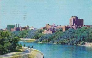 University Of Minnesota Overlooking The Mississippi River Minneapolis Minneso...