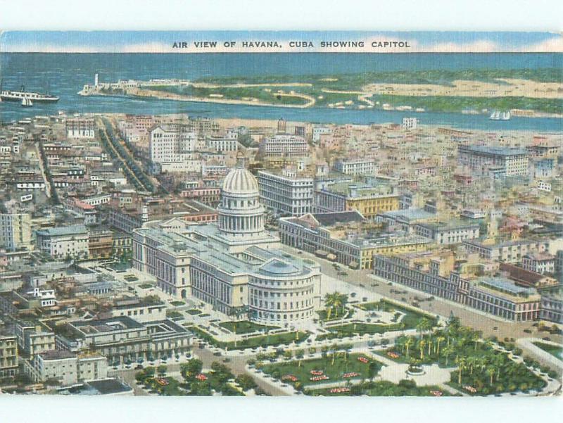 Linen NICE VIEW Havana - Habana Cuba i4323