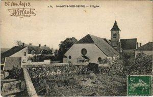 CPA Samois L'Eglise FRANCE (1101226)