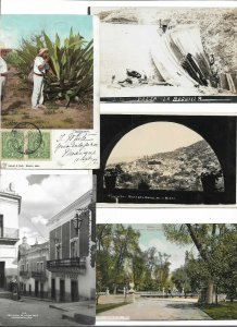 Beautiful Mexico Rare Postcard Lot of 15 01.13