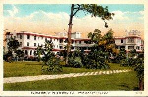 Florida St Petersburg Sunset Inn Curteich