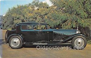 1927 Bugatti Type 41 Royale unused