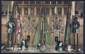 Arms & Colors Edinburgh Castle Banquet Hall unused c1910's