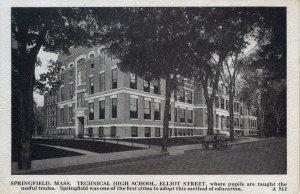 [ Graves, Local ] US Massachusetts Springfield - Technical High School