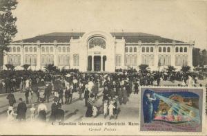 france MARSEILLE Expo Internationale d'Electricité 1908