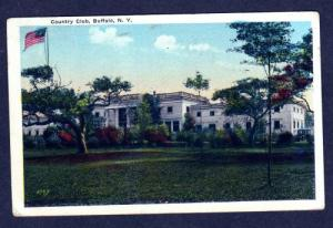 NY View Country Club BUFFALO NEW YORK PC Postcard1920