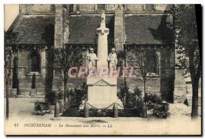 Old Postcard Ouistreham The memorial Militaria