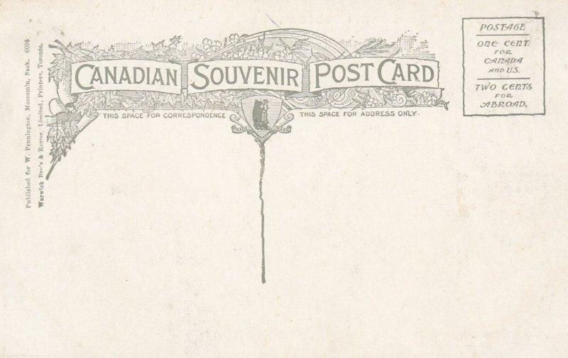MOOSOMIN , Saskatchewan, Canada, 1900-10s ; Main Street , Looking North