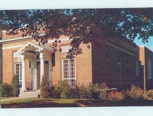 Pre-1980 LIBRARY SCENE Adirondacks - Saranac Lake New York NY AF1489