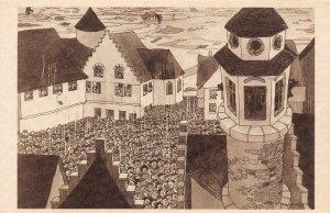 LP68  Chicago World's Fair Picturesque Belgium Postcard Carillon
