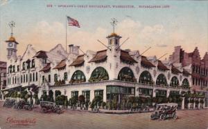 Spokan's Great Restaurant Spokane Washington 1915